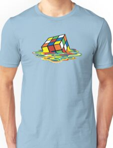 Melting Rubix Unisex T-Shirt
