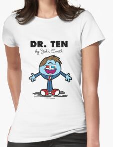 Dr Ten Womens Fitted T-Shirt