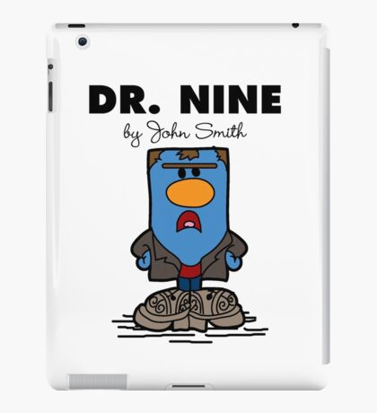 Dr Nine iPad Case/Skin