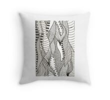 Tear drops of Texture Collection Throw Pillow