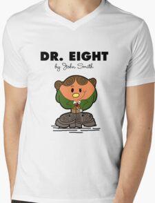 Dr Eight Mens V-Neck T-Shirt