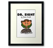 Dr Eight Framed Print