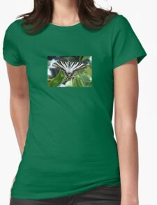 Swallowtail Butterfly Resting on Oleander Leaves T-Shirt