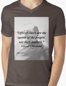 Officeholders - Grover Cleveland Mens V-Neck T-Shirt