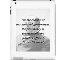 Presidency - Grover Cleveland iPad Case/Skin