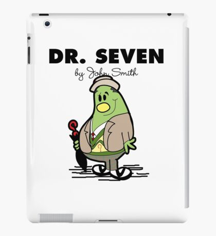 Dr Seven iPad Case/Skin