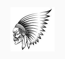 Indian Skull Emblem Unisex T-Shirt