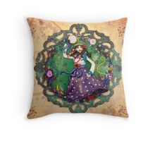The Dance of Freedom Throw Pillow