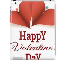 Valentines Day Card iPad Case/Skin