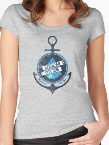 Cerulean City Gym Women's Fitted Scoop T-Shirt