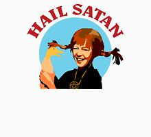 "Pippi Longstocking ""Hail Satan"" Unisex T-Shirt"
