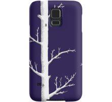 Trees on Ink Blue Samsung Galaxy Case/Skin