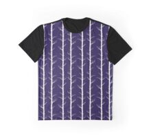 Trees on Ink Blue Graphic T-Shirt
