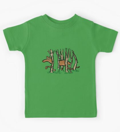 the elusive thylacine Kids Tee