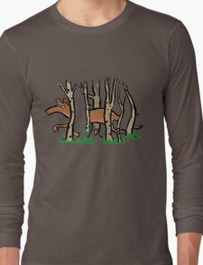 the elusive thylacine Long Sleeve T-Shirt