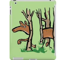 the elusive thylacine iPad Case/Skin