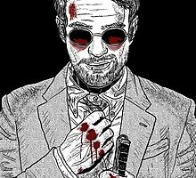 Matt Murdock - Daredevil by madpigeon