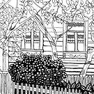 Adult Coloring Page - Country Life 01  by Marikohandemade