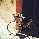 Yellow Bicycle by Cassia Beck