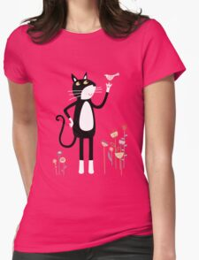 Mild Peril Womens Fitted T-Shirt
