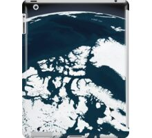 View over Greenland and the Arctic Ocean.  iPad Case/Skin