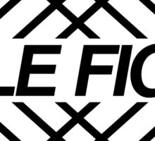 Title Fight Hyperview Design Sticker