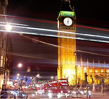 london night by allydavis