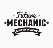 Future Mechanic Like My Mommy One Piece - Long Sleeve