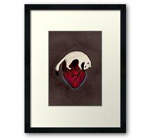 Sweet Heart Framed Print