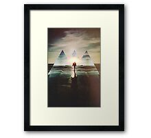 Fractions 17 Framed Print