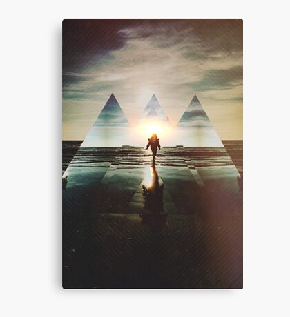 Fractions 17 Canvas Print