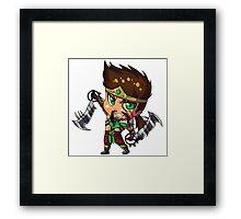 Chibi Draven Framed Print