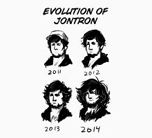 Evolution of Jontron Unisex T-Shirt