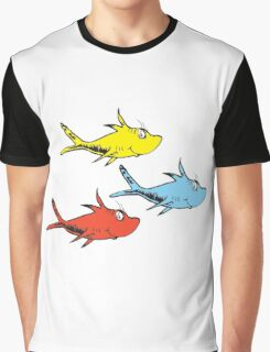 Counting FIsh Graphic T-Shirt
