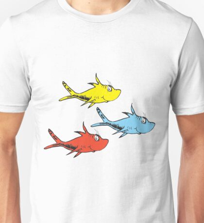 Counting FIsh Unisex T-Shirt