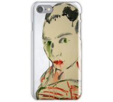 Self Portrait on paper iPhone Case/Skin