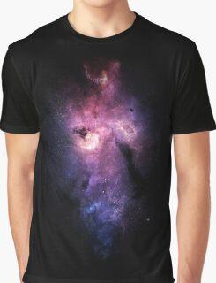 Space - Nebula Graphic T-Shirt