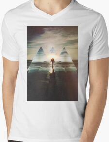 Fractions 17 Mens V-Neck T-Shirt