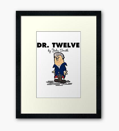 Dr Twelve Framed Print