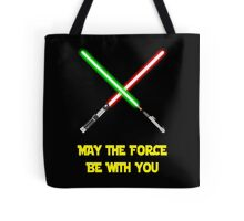 May the force be with you-star wars fanart Tote Bag