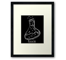 Science Flask WoB Framed Print