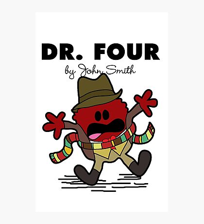 Dr Four Photographic Print