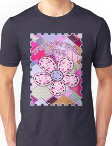 beautiful cool design square pink  Unisex T-Shirt