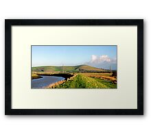 Along the Ouse Framed Print