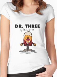 Dr Three Women's Fitted Scoop T-Shirt