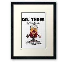 Dr Three Framed Print