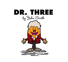 Dr Three Photographic Print