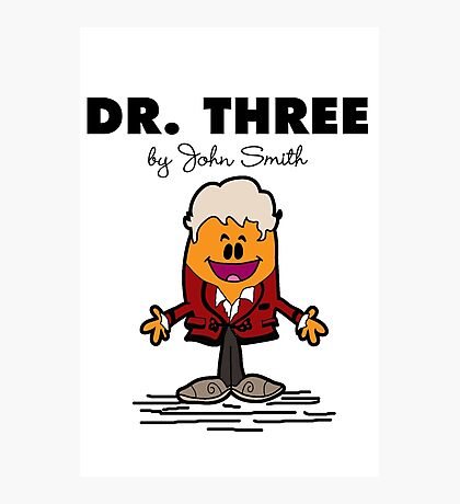 Dr Three Photographic Print