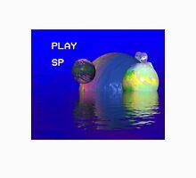 Alien planet ocean vaporwave aesthetics Unisex T-Shirt