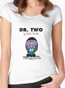 Dr Two  Women's Fitted Scoop T-Shirt